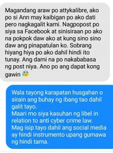 Anti-Cyber Crime Law and Libel