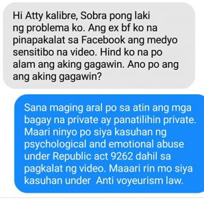 Psychological and Emotional abuse under Republic act 9262 and Anti-Voyeurism law