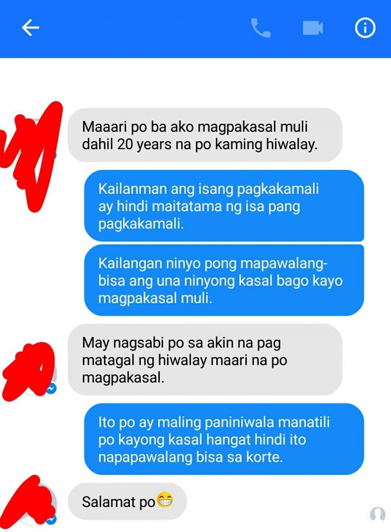 20 years na hiwalay